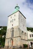 Cathédrale de Bergen Images libres de droits