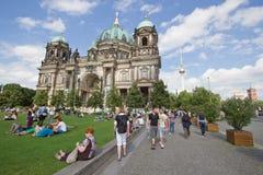 Cathédrale de Berlin (les DOM de Berlinois) Photographie stock libre de droits