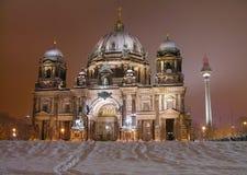 Cathédrale de Berlin (les DOM de Berlinois), Allemagne Images libres de droits