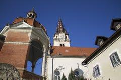 Cathédrale de bisrica de Marija photographie stock libre de droits