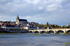 Cathédrale de Blois dans les Frances Photographie stock libre de droits