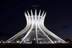 Cathédrale de Brasilia photos stock