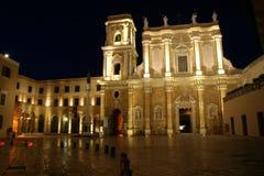 Cathédrale de Brindisi Image libre de droits