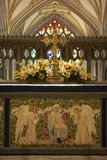 cathédrale de Bristol d'autel photo stock