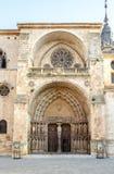 Cathédrale de Burgo De Osma Images libres de droits