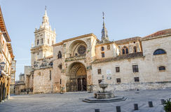 Cathédrale de Burgo De Osma Images stock