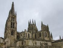 Cathédrale de Burgos, Espagne Photo libre de droits