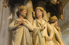 Cathédrale de Burgos, Espagne Photos stock