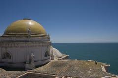 cathédrale de Cadix Image libre de droits