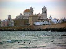 Cathédrale de Cadix Photo libre de droits
