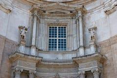 Cathédrale de Cadix de groupe Photo libre de droits