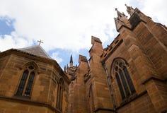 Cathédrale de cathédrale de rue Mary. Image libre de droits