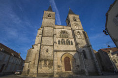 Cathédrale de Chaumont, France Photos stock