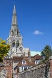Cathédrale de Chichester dans le Sussex photos stock