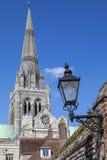 Cathédrale de Chichester dans le Sussex photo libre de droits