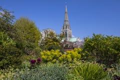 Cathédrale de Chichester dans le Sussex images libres de droits
