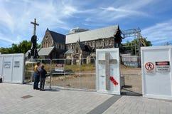 Cathédrale de Christchurch à Christchurch - au Nouvelle-Zélande Image stock