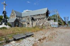 Cathédrale de Christchurch à Christchurch - au Nouvelle-Zélande Images libres de droits