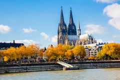 Cathédrale de Cologne, Allemagne photos libres de droits