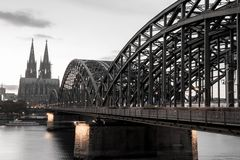 Cathédrale de Cologne, Allemagne photos stock