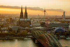 Cathédrale de Cologne, Allemagne image libre de droits