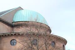 Cathédrale de Copenhague image stock