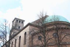 Cathédrale de Copenhague image libre de droits