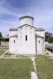 Cathédrale de croix sainte dans Nin Images libres de droits