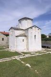 Cathédrale de croix sainte dans Nin Photos libres de droits