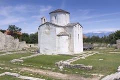 Cathédrale de croix sainte dans Nin Photos stock