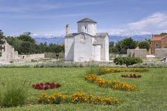 Cathédrale de croix sainte dans Nin Photo libre de droits