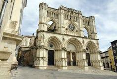 Cathédrale de Cuenca Images stock