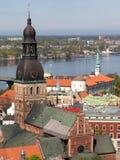 Cathédrale de dôme à Riga Image libre de droits