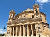 Cathédrale de dôme de Mosta, Malte, l'Europe Image stock