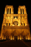 Cathédrale de dame de Paris de Noter Image libre de droits