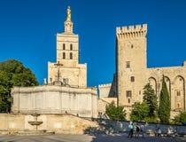 Cathédrale de DES Doms de Notre Dame à Avignon Photo libre de droits