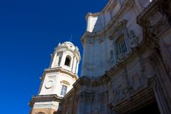 Cathédrale de diz de ¡ de CÃ Images libres de droits