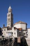 Cathédrale de Domnius de saint, façade du sud-est Photos stock