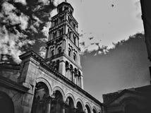 Cathédrale de Domnius de saint dans la fente, Croatie photos libres de droits