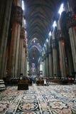 Cathédrale de Domo, vue intérieure images libres de droits