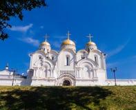 Cathédrale de Dormition dans Vladimir Photographie stock libre de droits
