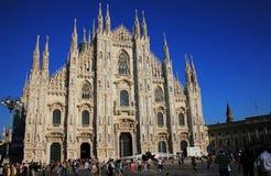Cathédrale de Duomo à Milan, Italie Photo stock