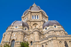 Cathédrale de Duomo de Cerignola. La Puglia. L'Italie. photos stock