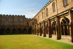 Cathédrale de Durham, cloître intérieur Image stock