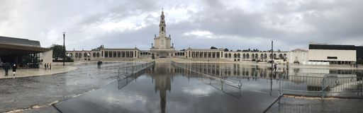 Cathédrale de Fatima Photo libre de droits