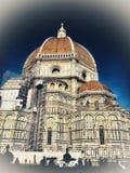 Cathédrale -1a de Florence Photos libres de droits