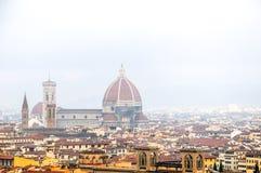 Cathédrale -1a de Florence photo libre de droits