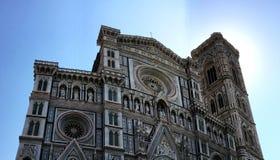 Cathédrale -1a de Florence Image libre de droits