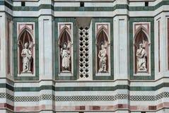Cathédrale de Florence, détail architectural, Italie Photo libre de droits