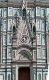 Cathédrale de Florence, détail architectural, Italie Image libre de droits